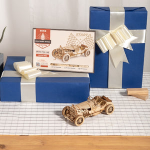 Build-It-Yourself Model Wooden Vehicles! (4 Options Available)
