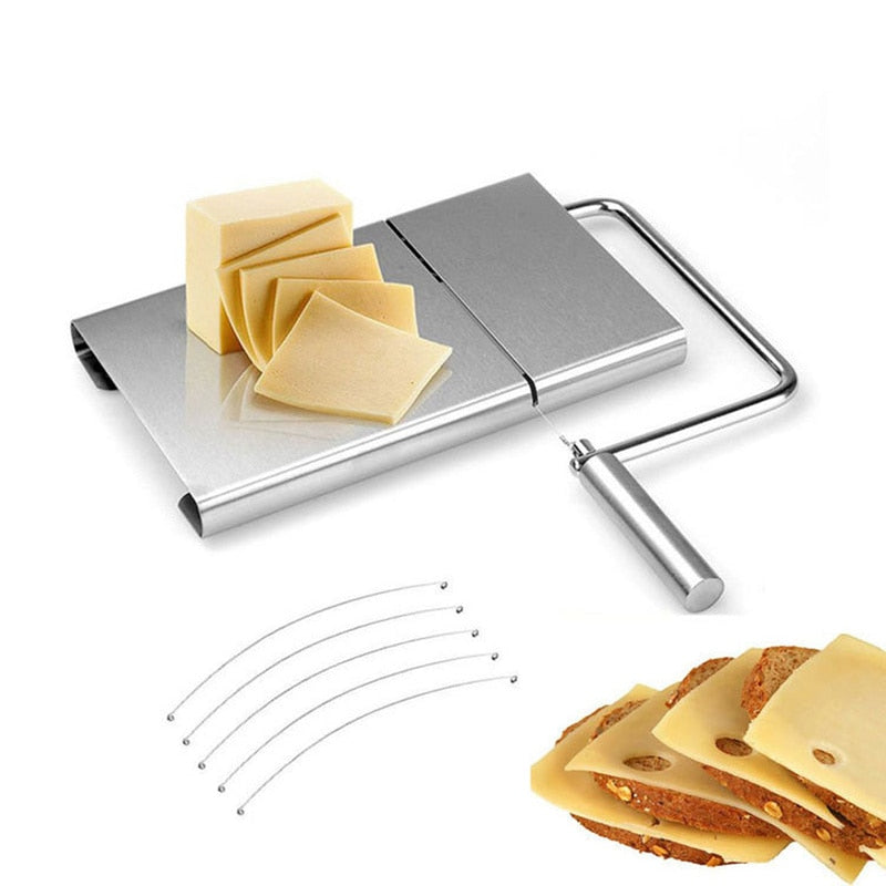 Simple Wire Cheese Slicer