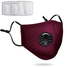 Load image into Gallery viewer, The ConSeal: Premium Cotton Reusable Face Masks with Ventilating Valve (now with FREE shipping!)