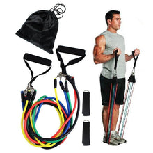 Load image into Gallery viewer, Resistance Band Home Workout Set