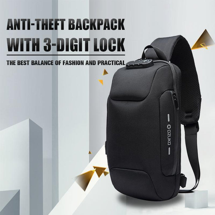 higomore ™ Anti-theft Backpack With 3-Digit Lock