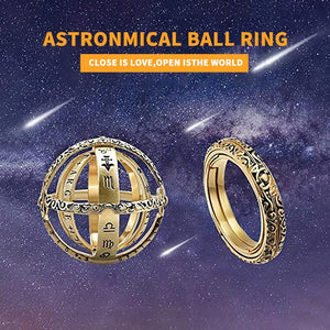ASTRONOMICAL RING. Close is love. Open is the world.