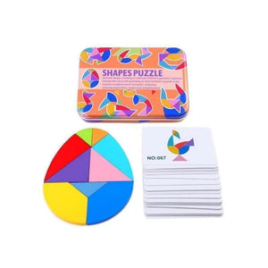 Higomore™ Educational Toy—Shape Puzzle