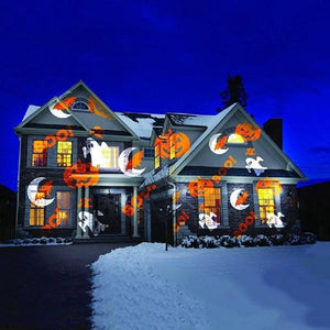 Christmas Halloween Home Decoration Projector Lights (12 Patterns)