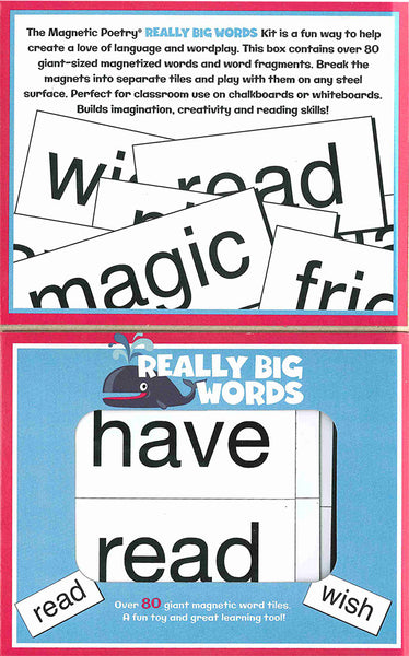 Really Big Words