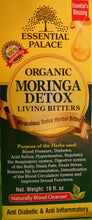 Load image into Gallery viewer, MORINGA LIVING DETOX BITTERS (Organic) Net Weight: 16 oz.