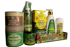 MORINGA/SEAMOSS PACKAGE #2 (8 pieces)