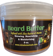 Load image into Gallery viewer, BEARD BUTTER with BIOTIN Net Weight: 8 oz.