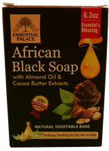 Load image into Gallery viewer, BLACK SOAP (Natural Vegetable Base) Net Weight: 6.3 oz.