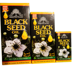 100% PURE AND COLD PRESS BLACK SEED OIL (1oz, 4oz, 8oz) 3 sizes