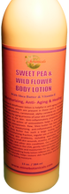 Load image into Gallery viewer, BODY LOTION (Organic) Net Weight: 13 oz.