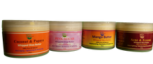 Load image into Gallery viewer, WHIPPED SHEA BUTTER( Acne, Coconut, Mango,Milk & Honey, Coconut Oil, Pink Sugar) 8 oz.