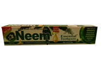 Load image into Gallery viewer, 5 in 1 ORGANIC TOOTHPASTE- (NEEM, CHARCOAL, MORINGA, BLACK SEED) Net Weight: 6.5 oz.