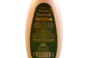 BODY WASH  (Natural Vegetable Based) Net Weight: 13.5 oz.