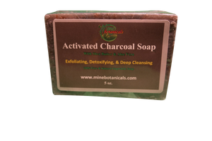 ACTIVATED CHARCOAL SOAP Net Weight: 5oz.