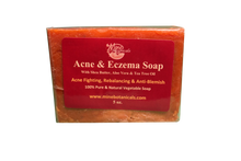 Load image into Gallery viewer, ACNE & ECZEMA SOAP Net Weight: 5oz