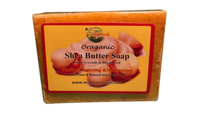 ORGANIC SHEA BUTTER SOAP Net Weight: 5oz.