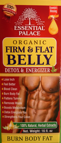 ORGANIC FAT BURNER Net Weight: 16 fl oz.