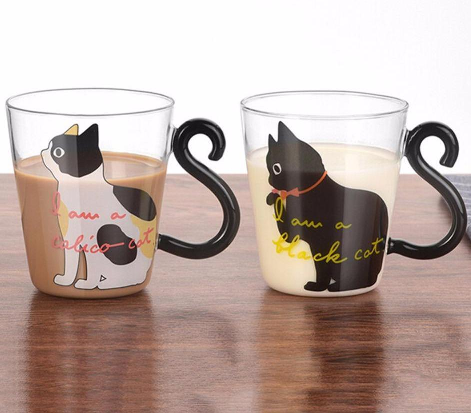 Cute Kitty Cat Glass