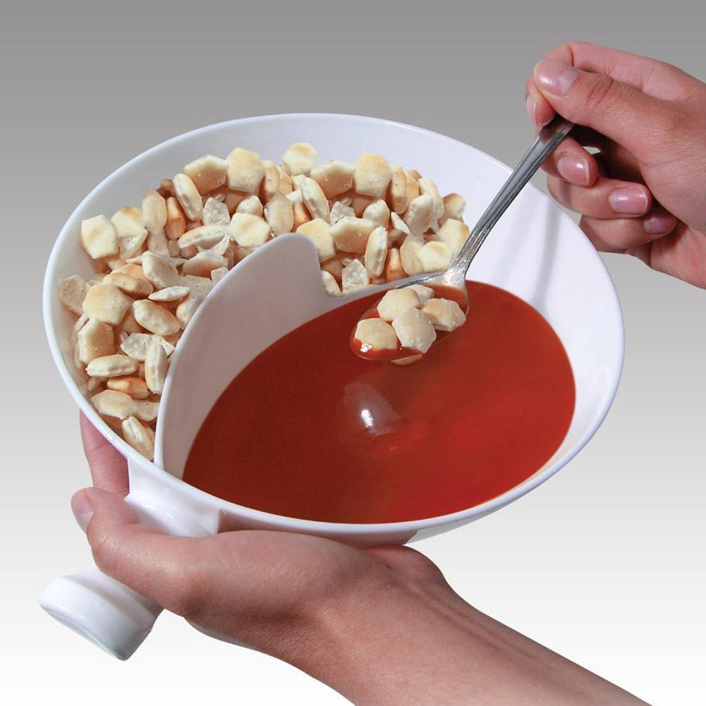 Divided Snack Bowl
