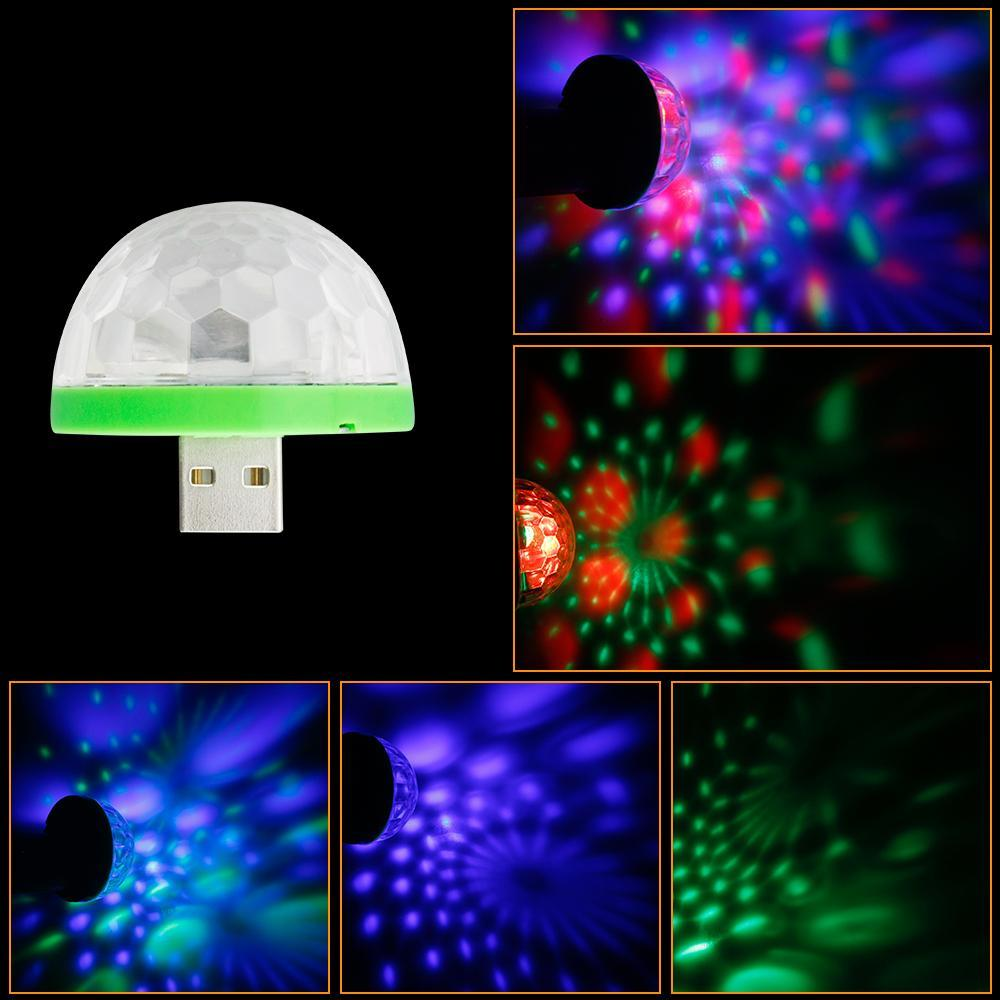 Mini USB Mushroom Light