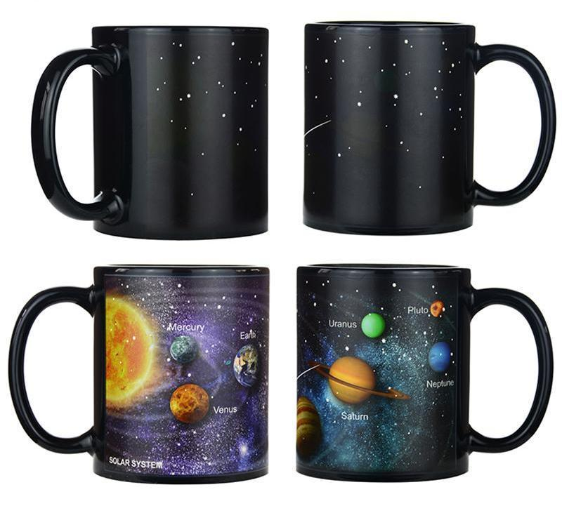 Temperature-Changing Galaxy Mugs