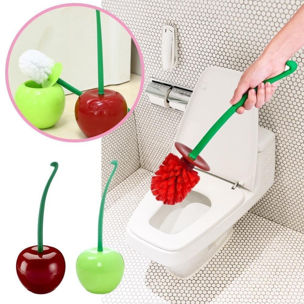 Cherry Shape Toilet Brush