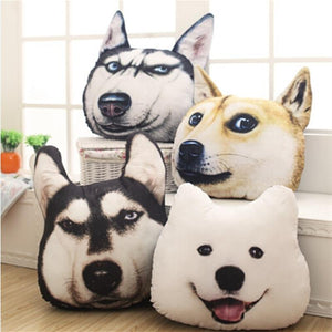 Dog Plush Pillows
