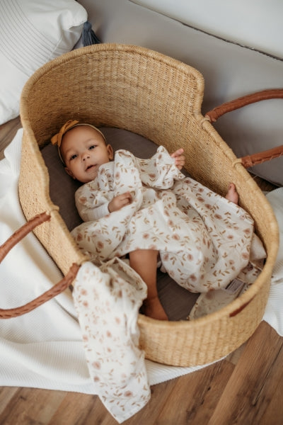 Swaddle Wild Flower White