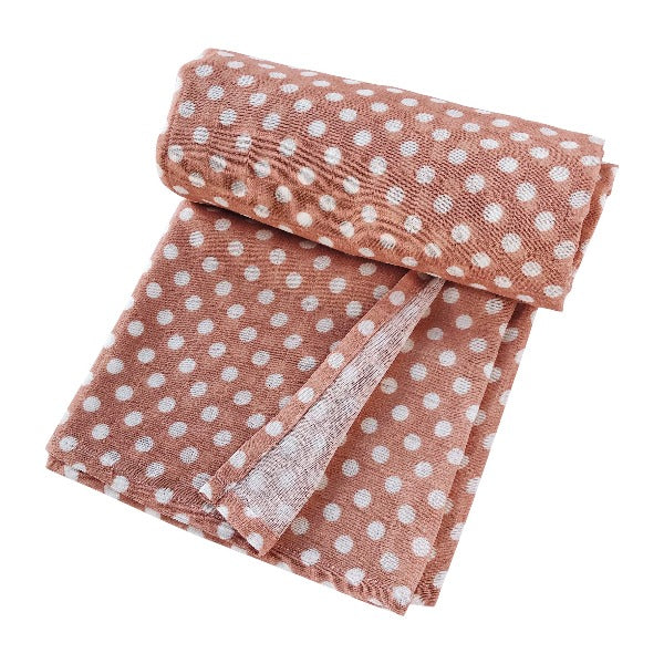 Swaddle Polka Dot Blush Pink