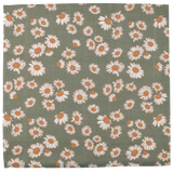 Swaddle Daisy Sage Green