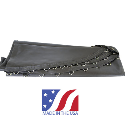 Polypropylene jump mat with 72 V-rings that is made in the USA.