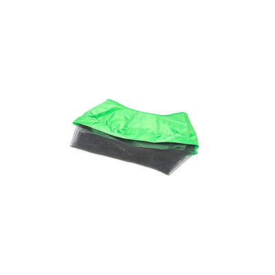40-inch mini green spring pad with attached lower enclosure net.