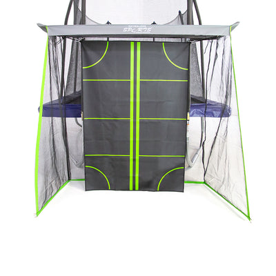 The Multi-Sport Training Net is gray, black, and neon green.