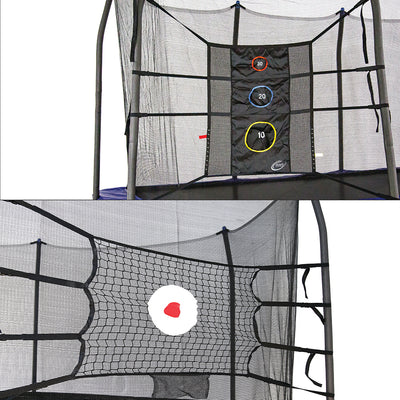 The game kit includes both the Triple Toss Game and the Bounceback net.