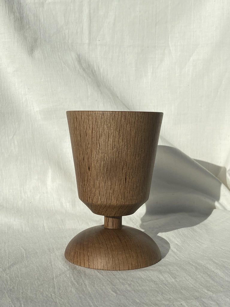 CHALICE CANDLE HOLDER - DAMDAM x Cue Woodworks - DAMDAM
