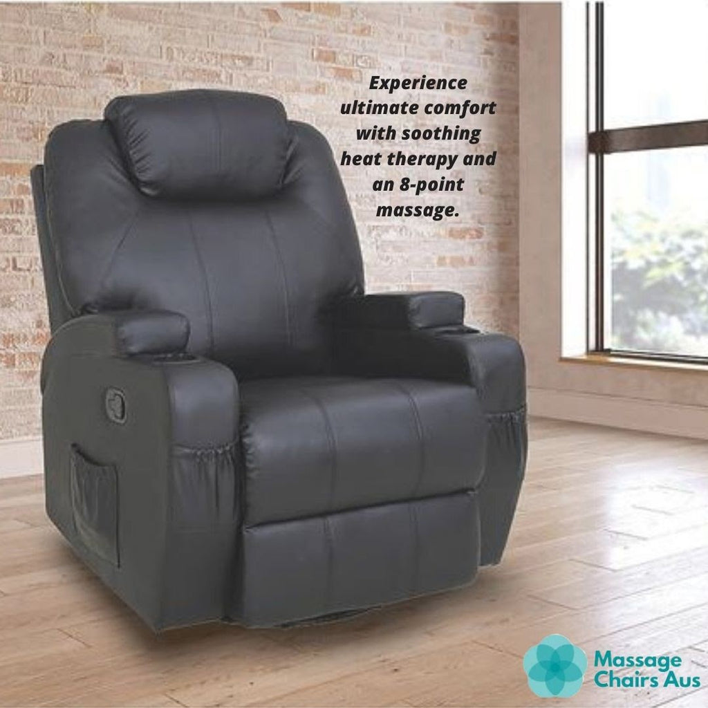 Not your average massage chair: 8-point heated massage chair