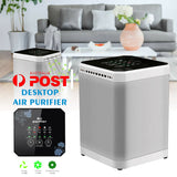 Portable Air Purifier Remove Virus & Bacteria Clear Freshener True HEPA Filter Ioniser odor cleaner