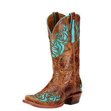 Load image into Gallery viewer, Ariat Dusty Rose X Toe Western Boot