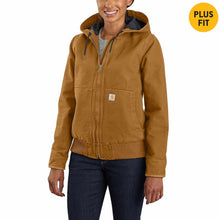 Load image into Gallery viewer, Women's Carhartt J130 Washed Duck Active Jacket