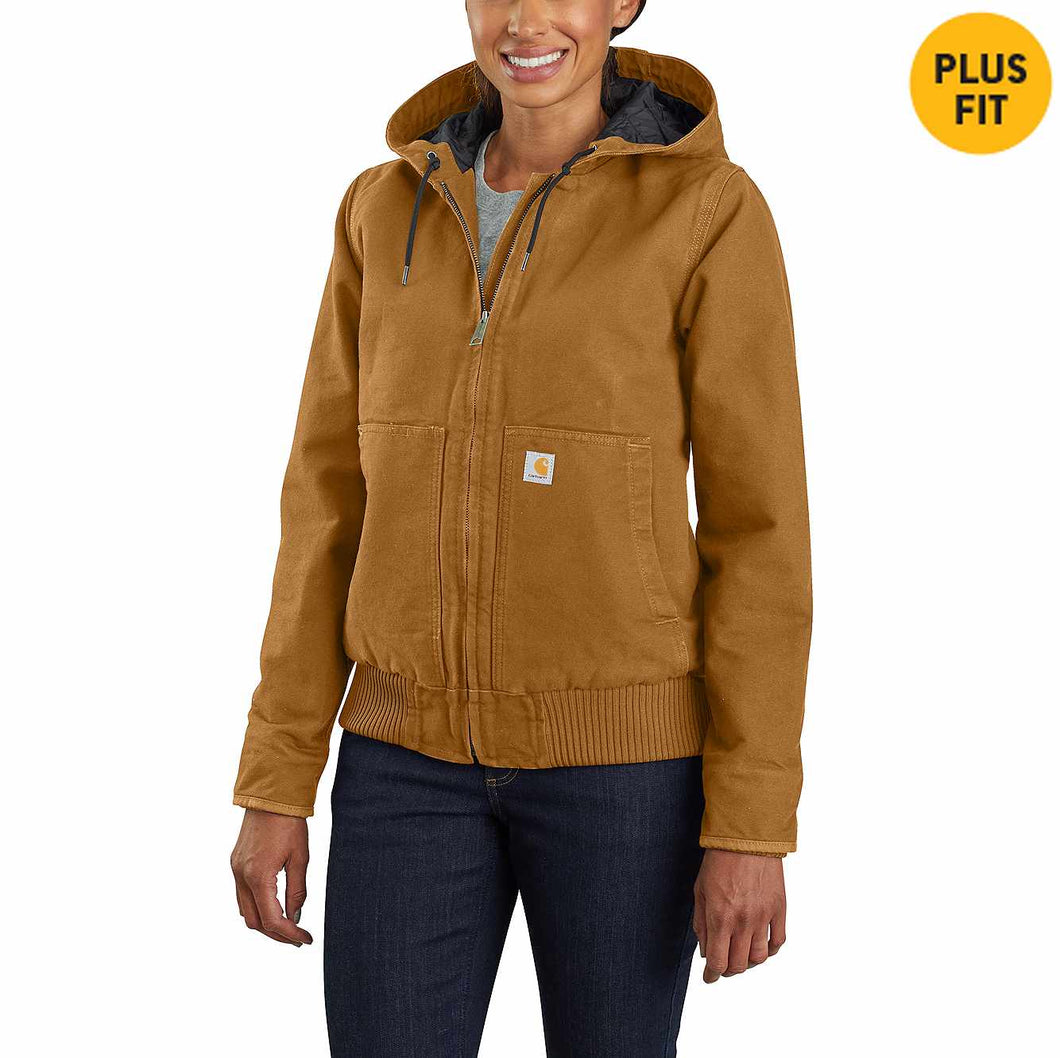 Women's Carhartt J130 Washed Duck Active Jacket
