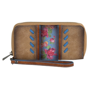 Catchfly Julia Wallet Flower With Blue