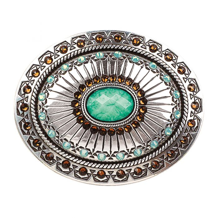 Blazin Roxx Tribal Stamp Belt Buckle