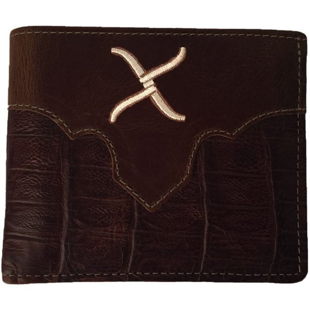 Twisted X Men's Leather Bifold Wallet