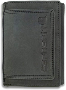 Carhartt Genuine Leather Detroit Trifold Wallet