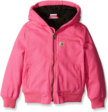Load image into Gallery viewer, Carhartt Girl's Pink Wildwood Insulated Jacket