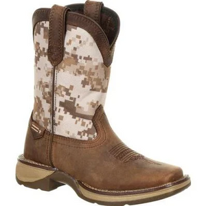 LIL' REBEL™ BY DURANGO® BIG KIDS DESERT CAMO WESTERN BOOT