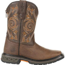 Load image into Gallery viewer, GEORGIA BOOT CARBO-TEC LT LITTLE KIDS BROWN PULL ON BOOT