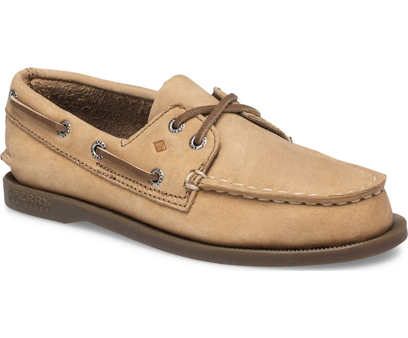 SAHARA LEATHER SPERRY'S