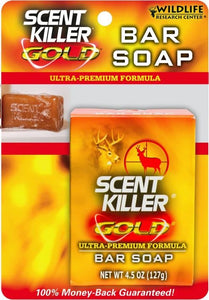 Scent Killer Gold Bar Soap